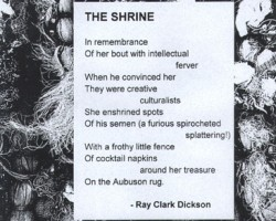Copyright©1999 Ray Clark Dickson. All rights reserved.
